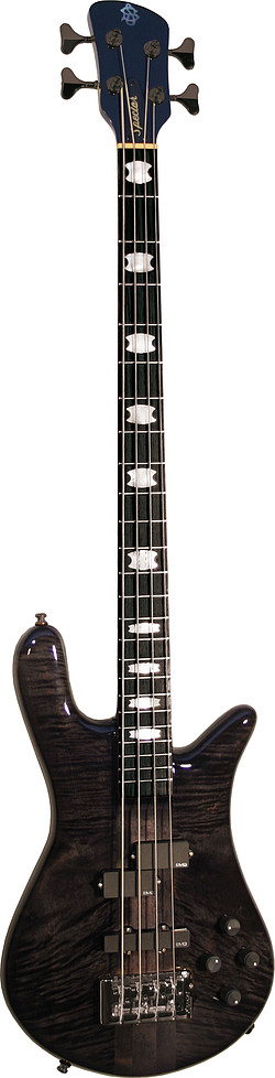 Spector Euro 4 LX Black Stain Gloss Eb.