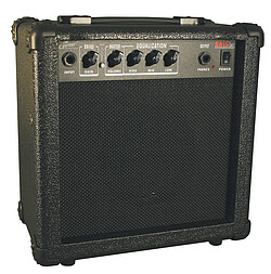 Career CA15  Guitar Amp, schwarz