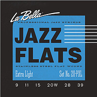 La Bella Jazz Flats Stainless Steel *