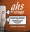 GHS Acoustic Bass Ph. Bronze *