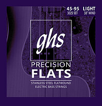 GHS Prec. Flatwound Bass Electric *