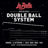 La Bella S500L Flatwound D. Ball 043/​104