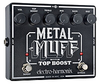 Electro Harmonix Metal Muff/​Top Boost