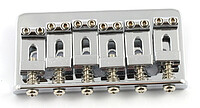 AP SB 0100-​010 Non Tremolo Bridge chrom