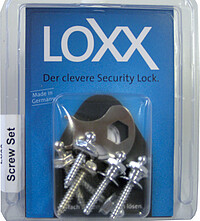 Loxx Screw Set chrom