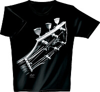 T-​Shirt schwarz Cosmic Guitar *