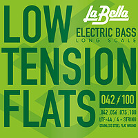 La Bella LTF Low Tension Flex Flats *
