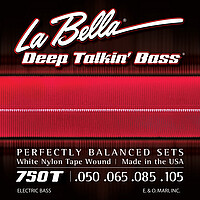 La Bella Bass White Nylon *