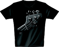 T-​Shirt schwarz Bass Space Man *