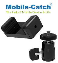 Mobile Catch Phone Holder+​Ball Head Enf.