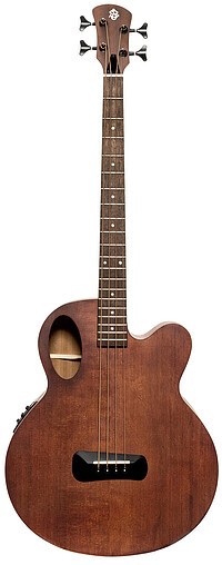 Spector Timbre JR Acoustic Bass, walnut