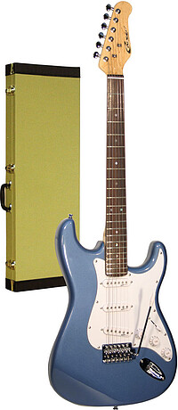 Career Stage-​1 E-​Gitarre met. blue