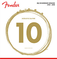 Fender® Ac. Guitar Strings 80/​20 Bronze