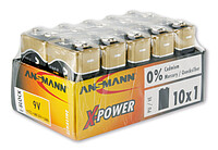 Ansmann Alka X-​Power-​Batterie 9V E (10)
