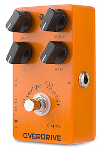 Caline CP-​18 Orange Burst Overdrive