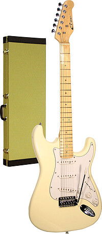 Career Stage-​1 E-​Gitarre vint. white/​mpl