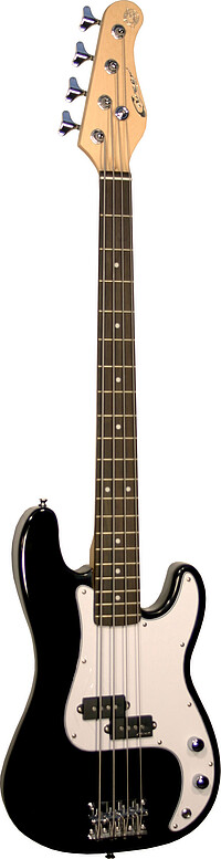 Career StageBass 1 Junior schwarz