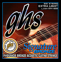 G H S LJ Signature Bronze Acoustic *