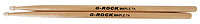 G-​Rock Drum Sticks Maple 7A Nylon