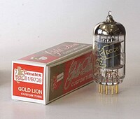 Genalex Gold Lion 12AT7 Preamp Tube
