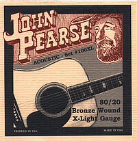 J. Pearse 80/​20 Bronze Acoustic *