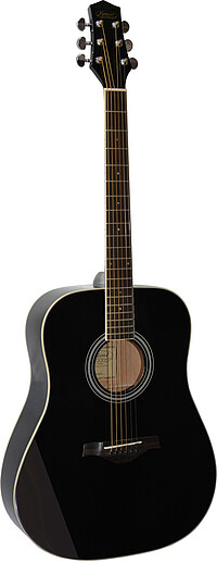 Kirkland AH Dreadnought black
