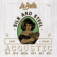 La Bella 710 Silk & Steel Acoustic *