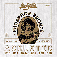 La Bella Phosphor Bronze Acoustic *