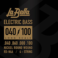 La Bella RX-​Series Bass Nickel Plated *