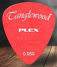 Tanglewood Plex Pick 0,​50 red (12)