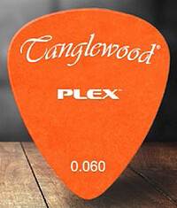 Tanglewood Plex Pick 0,​60 orange (12)