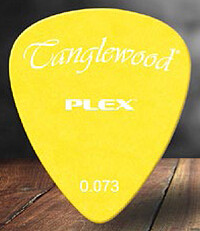 Tanglewood Plex Pick 0,​73 yellow (12)